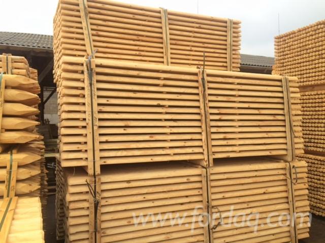 Pine-poles