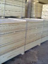 Softwood  Sawn Timber - Lumber - 22 mm Kiln Dry (KD) Fir  Planks (boards)  from Ukraine