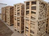 Firelogs - Pellets - Chips - Dust – Edgings - Kiln dried Beech firewood 1 m3 and 2 m3