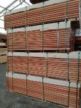 Poland Exterior Decking - Keruing decking beams 40x60 8-16ftd