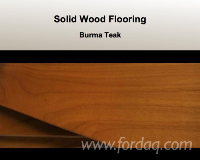 Parquet flooring burma teak for sale for Solid hardwood flooring sale