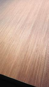 Red engineered veneer face/back plywood for Middle East