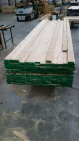 Hardwood  Unedged Timber - Flitches - Boules - European White Ash Loose