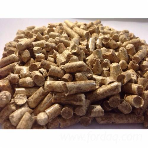 Wood pellets sawdust