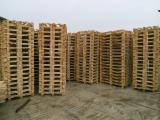 Wood Pallets - New wooden pallets 1200x800 / 800x600