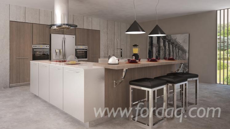 vend armoires de cuisine design autres mati res panneau. Black Bedroom Furniture Sets. Home Design Ideas