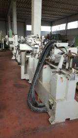 木工侧面,成型砂光机 DIMAC PROFITECH PLUS 旧 意大利