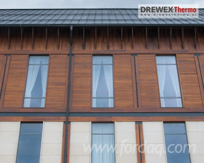 Wood Cladding Elevation : Ash wall cladding elevation boards