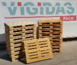 Wood Pallets - NEW WOODEN PALLETS 1000mmx1200mm