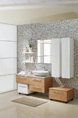 Bathroom Furniture - Contemporary MDF panel Cabinets Turkey