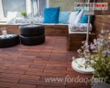 Terrassenholz Polen - Terrassendieln aus Thermoesche Holz 21x120x1000-2600 mm