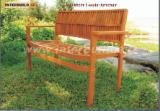 Garden Furniture - Stockholm 2-seater Armchair Solid Wood Outdoor Chair