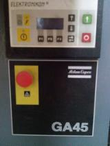 机器,五金及化工 - Atlac Copco+ Drier  GA 45  旧 斯洛伐克