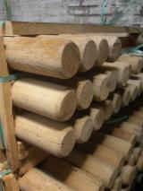 Hardwood Logs for sale. Wholesale Hardwood Logs exporters - 8-14  cm Oak (European)  Conical Shaped Round Wood Poland