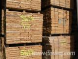 Hardwood  Sawn Timber - Lumber - Planed Timber - Cherry Strips 27-41 mm