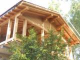 Großhandel  BSH - Gerade Balken - Kastanie Strukturschichtholz