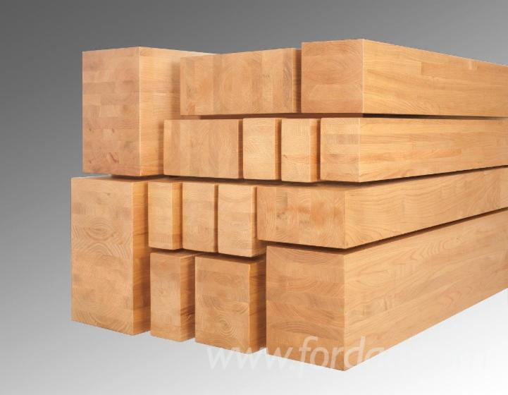 Sweet Chestnut glue laminated beams (CE - GL30C)
