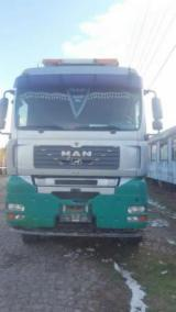 Forest & Harvesting Equipment  - Fordaq Online market - Used MAN 2007 Longlog Truck Romania