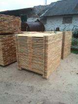Softwood  Sawn Timber - Lumber - Thermo Treated 20-200 mm Shipping Dry (25-35%) All coniferous Planks (boards)  from Belarus
