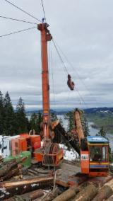 Forest & Harvesting Equipment - Used MM-Forsttechnik Syncrofalke 4to Combi 2005 Mobile Cable Crane Italy