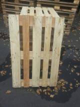 Lithuania Pallets And Packaging - Pallets (EURO, EUR / EPAL) wooden boxes, boards, packaging, collars