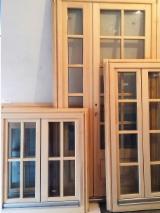 Двері, Вікна, Сходи - Європейська Хвойна Деревина, Вікна, Ялина  - Біла