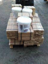 Solid Wood Flooring - 19 mm White Ash Parquet S4S Romania