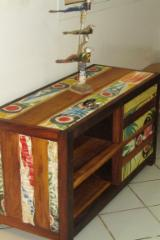 Traditional Living Room Furniture - Traditional Movingui Bon Tv Cabinets Senegal