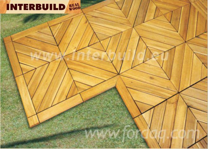 Vendo piastrelle di legno per giardino latifoglie europee - Piastrelle per giardino ...