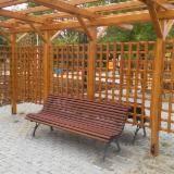 Garden Benches for sale. Wholesale exporters - Contemporary Ebony, black Garden Benches Romania