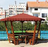 Wholesale Wood Kiosk - Gazebo - Pine  - Scots Pine Kiosk - Gazebo Romania