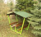 Pine  - Redwood Garden Products - Pine  - Scots Pine Pergola - Arbour Romania