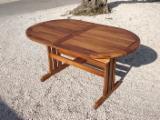 Garden Furniture Country Indonesia - Oval Teak Garden Table 180/240X100X75 cm