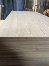Engineered Panels - China 15mm both side embossed ASH MDF board with cheap prices