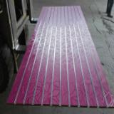 15-18mm leaves design melamine MDF slatwall panels