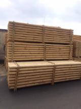 Pine poles diam. 10 cm