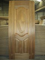 Composite Wood Products - Teak veneered HDF moulded door skin