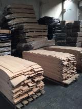 天然单板, 榉木, 四面的,刨光的