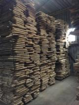 Unedged Hardwood Timber - Ash planks from Czech rep. 26,30, and 55mm