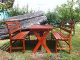 Garden Furniture - Contemporary Beech Garden Sets Romania