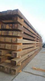 Sawn And Structural Timber Fir Abies Alba - 190 mm Kiln Dry (KD) Fir  Beams Romania