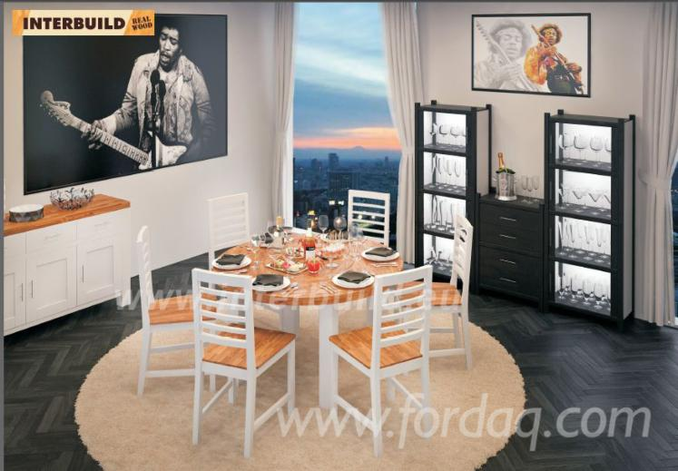 Vend Ensemble Table Et Chaises Pour Salle À Manger Design Feuillus Européens Acacia