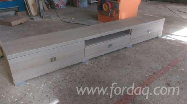 TV Stands Contemporary Particle Board Entertainment centers