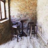 Contract Furniture - Contemporary Beech Restaurant Tables Romania