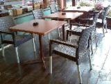 Mobilier Pentru Restaurant, Bar, Cafenea, Spital, Scoala - Mese cu blat werzalit pentru terasa - 60 euro