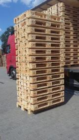 Pallets, Packaging And Packaging Timber - New Pine Euro Pallets