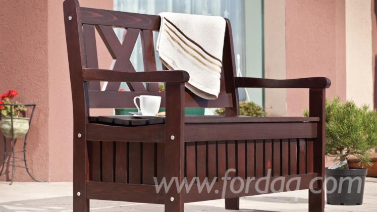 Wholesale Contemporary Fir (Abies Alba) Garden Benches Romania