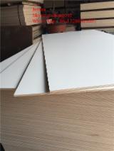 White Melamine coated plywood