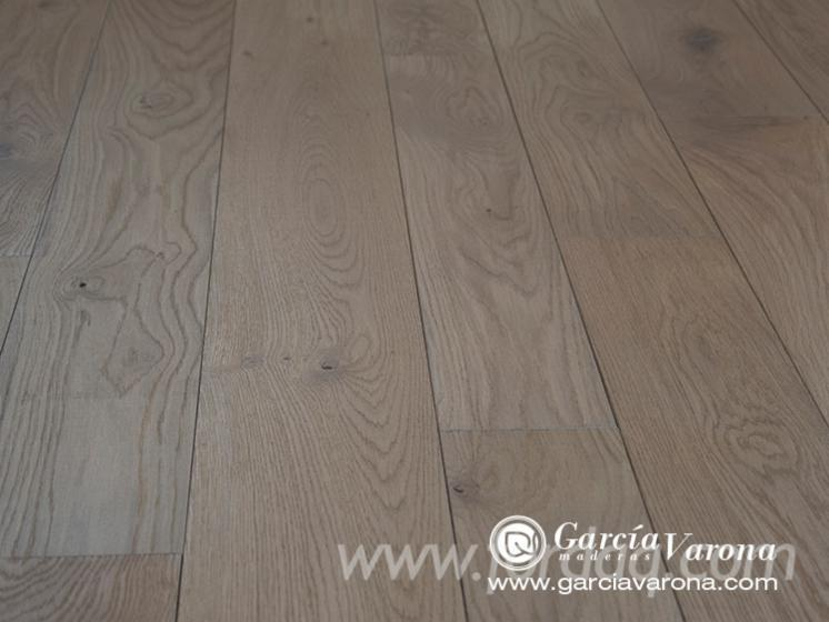 Solid Oak Parquet with Tongue and Groove