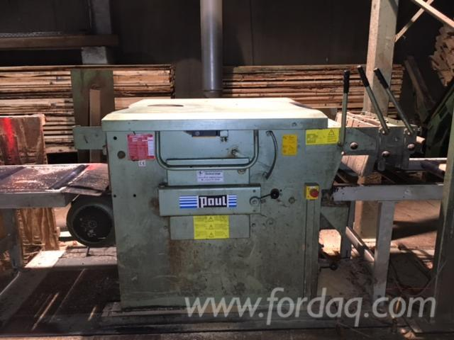 Used Paul KME2/BM 2002 Gang Rip Saws With Roller Or Slat Feed For Sale ...
